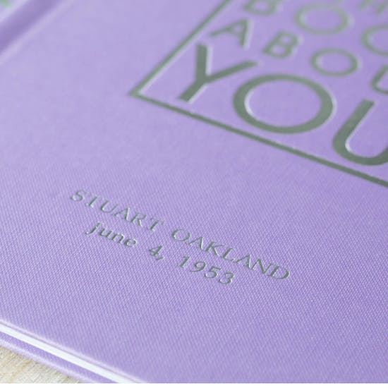 Exclusive Personalised Book Just Of You