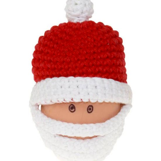 Hand Crocheted Festive Egg Cosy