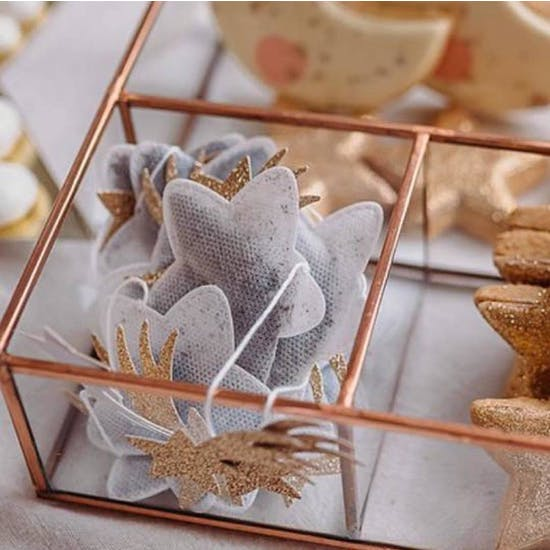 Handmade Star Shape Tea Bags