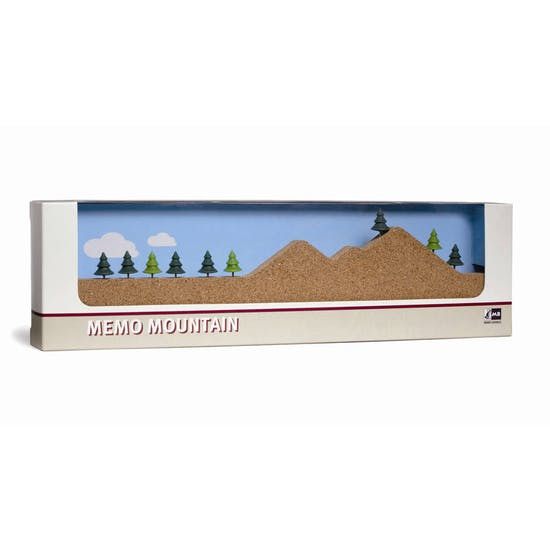 Memo Mountain Cork Board