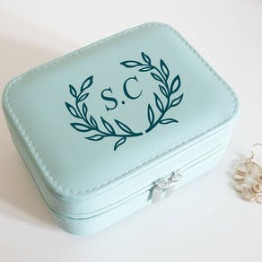 Travel Monogram Jewellery Case