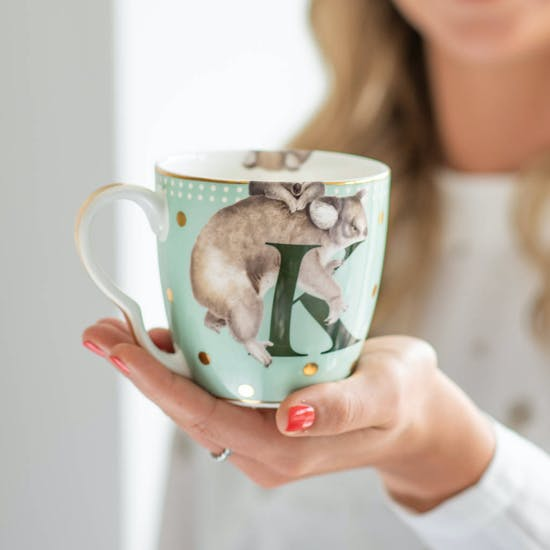 Animal Alphabet China Mug