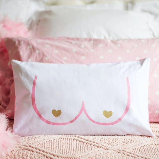 Personalised Boobalicious Cushion