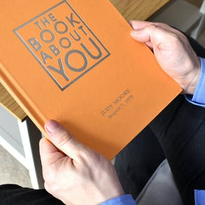 Personalised Orange Book About You