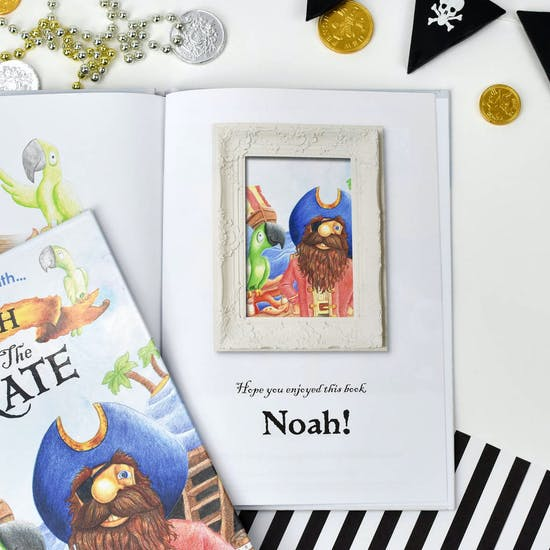 Personalised Colourful Pirate Book