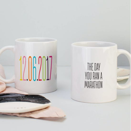Personalised Date Ceramic Mug
