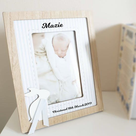 Personalised Rabbit Frame