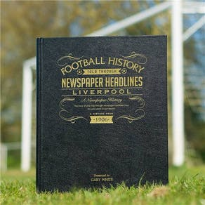 Faux Leather  Football Club History Book
