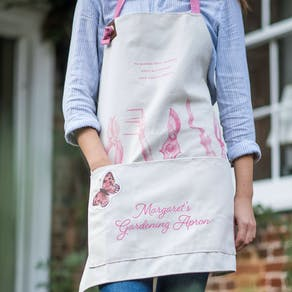 Personalised Gardening Apron And Dibber