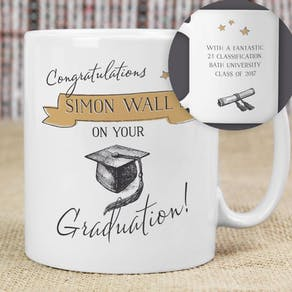 Personalised Graduation Mug Gift
