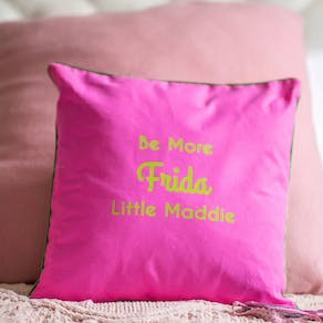 Personalised Cute Frida Design Cushion