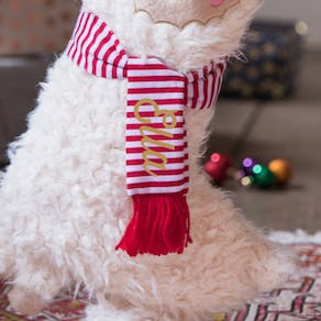 Personalised Llama Christmas Stocking