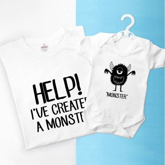 Me And My Little Monster Set