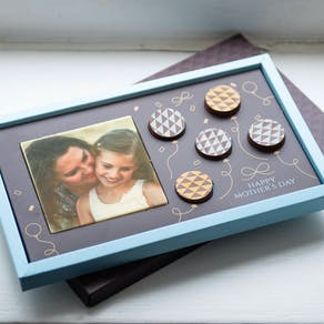 Mother's Day Edible Printed Chocolate Photo
