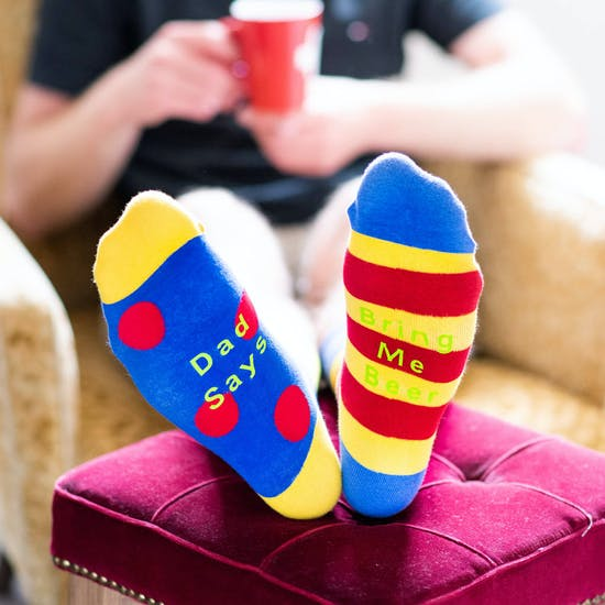 Personalised Odd Socks For Dad