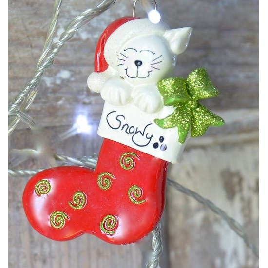 Personalised Pet Christmas Decorations