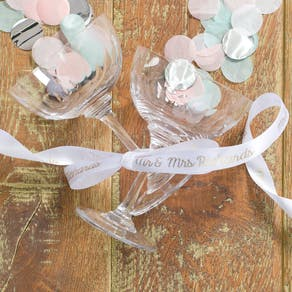 Personalised Wedding Ribbon
