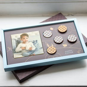 Easter Edible Printed Chocolate Photo