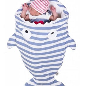 Personalised Newborn Shark Sleeping Bag