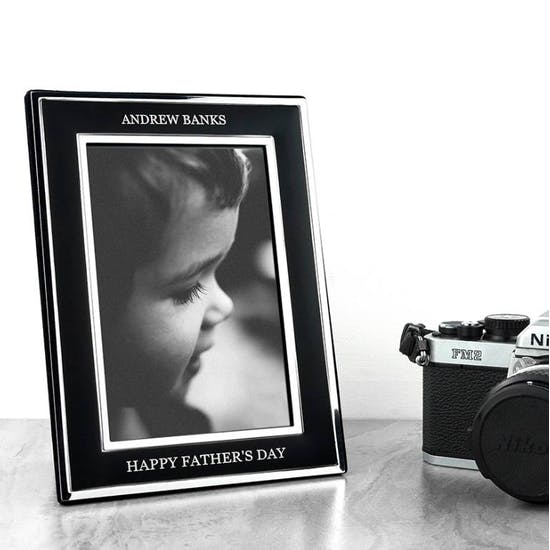 Personalised Silver Plated Graduation Frame