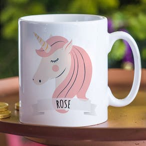 Personalised Magical Unicorn Mug