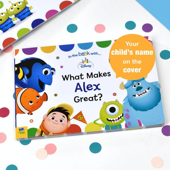 Personalised What Makes Me Great Disney Book