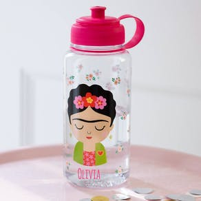 Personalised Frida Design Water Bottle