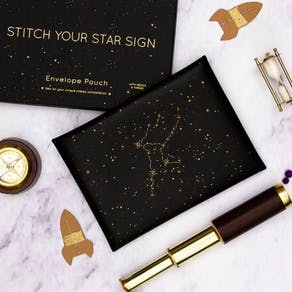 Stitch Your Star Sign Pouch