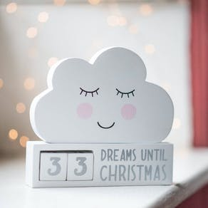 Sweet Dreams Countdown Advent Block