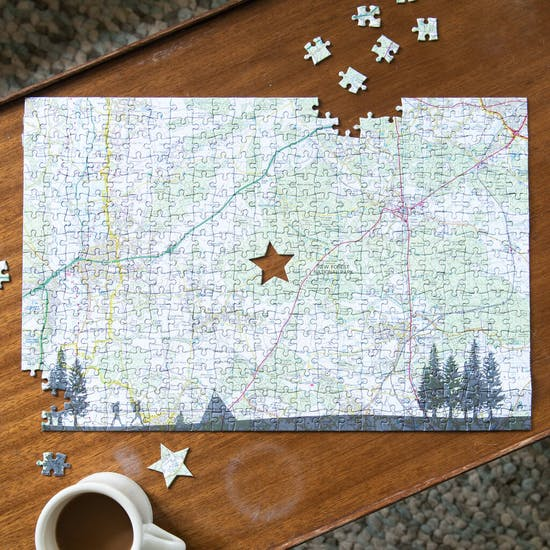 The Great Outdoors Personalised Jigsaw Puzzle