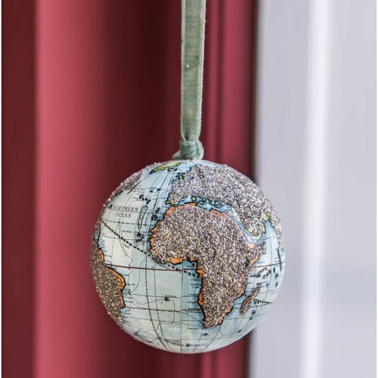 World Map Globe Hanging Decoration