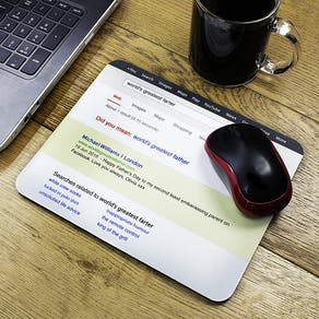Personalised Dads Mouse Mat