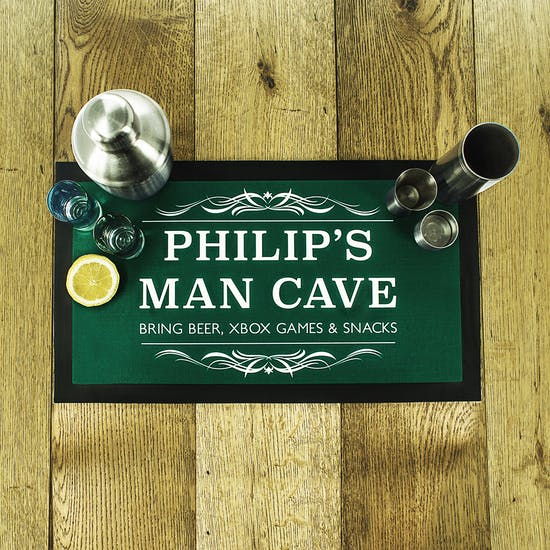Man Cave Beer Mat