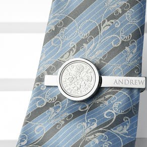Personalised Sixpence Money Clip