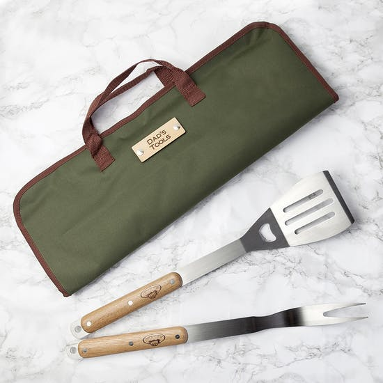 Personalised Barbecue Tools Gift Set