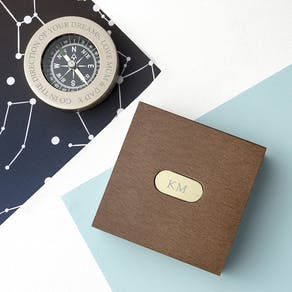 Personalised Adventures Compass With Box