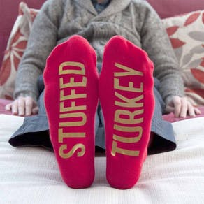 Personalised Kids Christmas Socks
