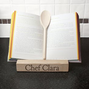 Double Kitchen Recipe Book or Tablet Holder