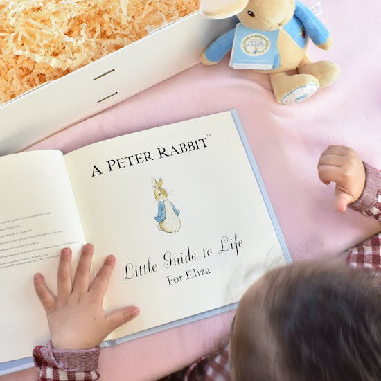 Personalised Peter Rabbit Gift Set