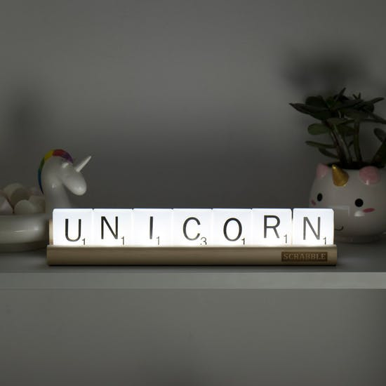 Personalised Scrabble Tile Light