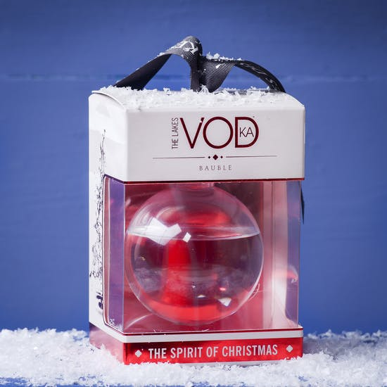 Large Vodka Filled Bauble
