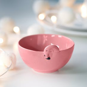 Pink Flamingo Bowl